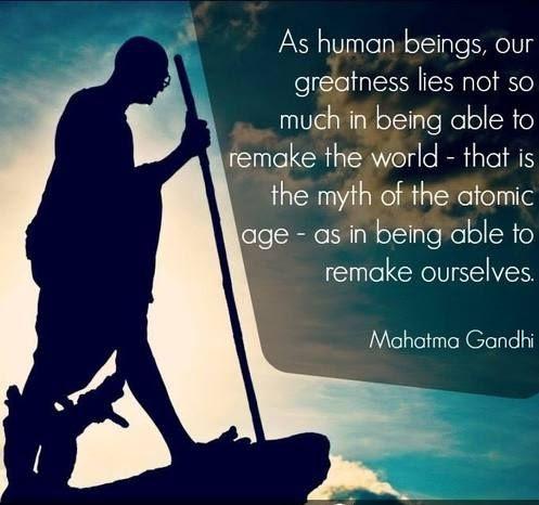 gandhi quotes animals
